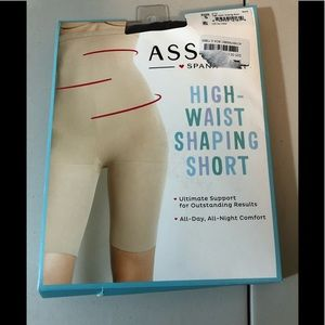 Assets Spanx High Waisted Shaping Short NewSize 5